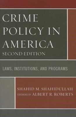 Crime Policy in America - pr_96686