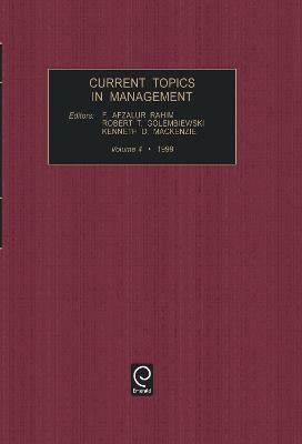 Current Topics in Management -