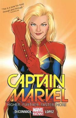 Captain Marvel Volume 1: Higher, Further, Faster, More -