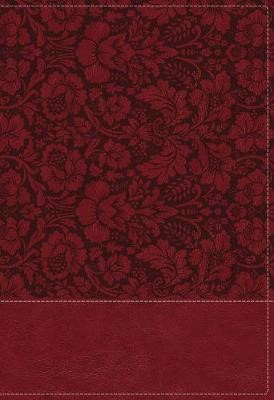 NKJV, Wiersbe Study Bible, Leathersoft, Burgundy, Red Letter, Comfort Print - pr_294620