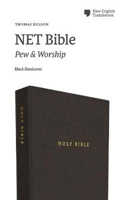 NET Bible, Pew and Worship, Hardcover, Black, Comfort Print - pr_1714611