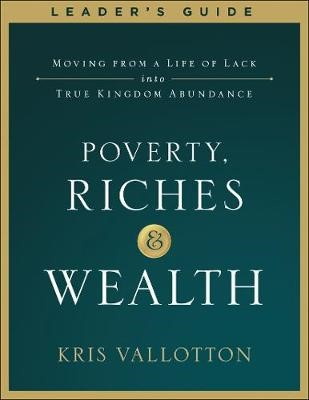 Poverty, Riches and Wealth Leader's Guide - pr_97282