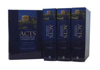 Acts: An Exegetical Commentary - pr_294988