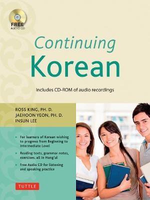 Continuing Korean -