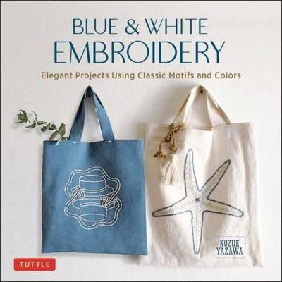 Blue & White Embroidery -