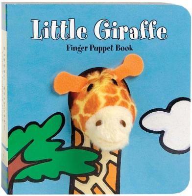Little Giraffe Finger Puppet Book - pr_288188