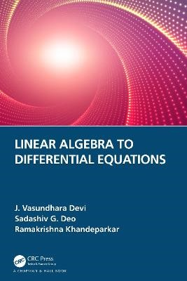 Linear Algebra to Differential Equations -