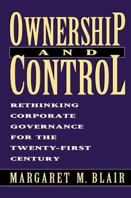 Ownership and Control -