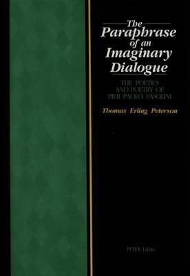 The Paraphrase of an Imaginary Dialogue - pr_20324