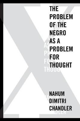 X-The Problem of the Negro as a Problem for Thought - pr_51033