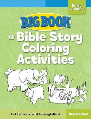 Big Book of Bible Story Coloring Activities for Early Childhood - pr_32793