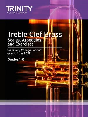 Treble Clef Brass Scales 1-8 from 2015 -