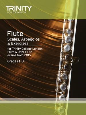 Flute Scales Grades 1-8 from 2015 -