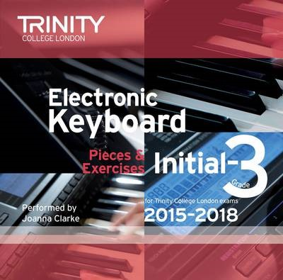 Trinity College London Electronic Keyboard Exam Pieces 2015-18, Initial to Grade 3 (CD only) - pr_307137