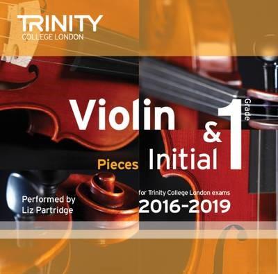 Violin CD Initial & - Grade 1 - pr_307128