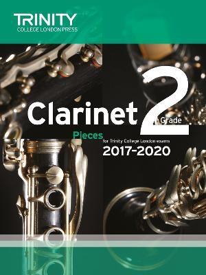Trinity College London: Clarinet Exam Pieces Grade 2 2017 - 2020 (score & part) - pr_109363