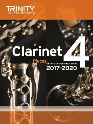 Trinity College London: Clarinet Exam Pieces Grade 4 2017 - 2020 (score & part) -