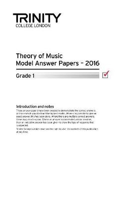 Theory Model Answer Papers Grade 1 2016 - pr_307176