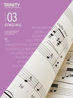 Trinity College London Singing Grade 3 2018-2021 -