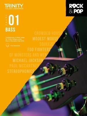 Trinity College London Rock & Pop 2018 Bass Grade 1 -