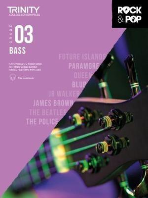 Trinity College London Rock & Pop 2018 Bass Grade 3 -
