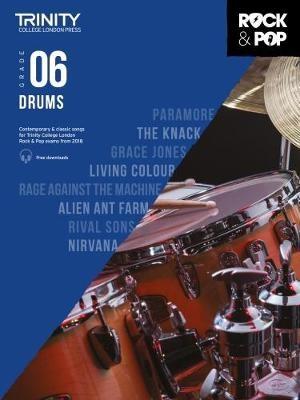 Trinity College London Rock & Pop 2018 Drums Grade 6 -