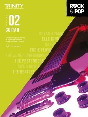 Trinity College London Rock & Pop 2018 Guitar Grade 2 -