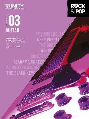 Trinity College London Rock & Pop 2018 Guitar Grade 3 -
