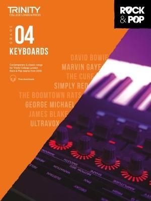 Trinity College London Rock & Pop 2018 Keyboards Grade 4 -