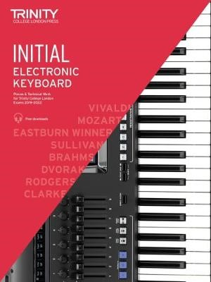 Trinity College London Electronic Keyboard Exam Pieces & Technical Work 2019-2022: Initial Grade - pr_307089