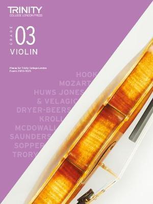 Trinity College London Violin Exam Pieces 2020-2023: Grade 3 -