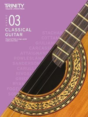 Trinity College London Classical Guitar Exam Pieces 2020-2023: Grade 3 -