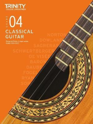 Trinity College London Classical Guitar Exam Pieces 2020-2023: Grade 4 -