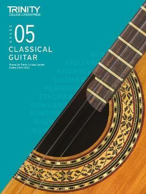 Trinity College London Classical Guitar Exam Pieces 2020-2023: Grade 5 -