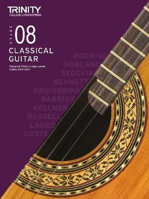 Trinity College London Classical Guitar Exam Pieces 2020-2023: Grade 8 -