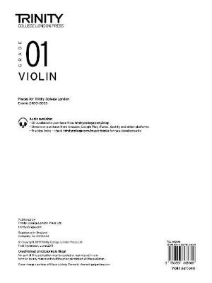 Violin 2020-2023. Grade 1 Part - pr_307032