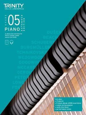 Trinity College London Piano Exam Pieces Plus Exercises 2021-2023: Grade 5 - Extended Edition - pr_1804217