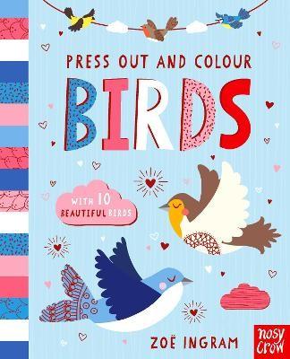 Press Out and Colour: Birds - pr_118831