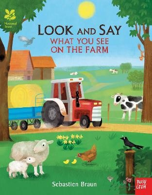 National Trust: Look and Say What You See on the Farm -