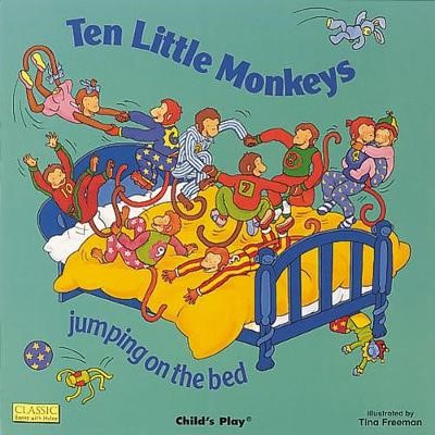 Ten Little Monkeys Jumping on the Bed - pr_265885