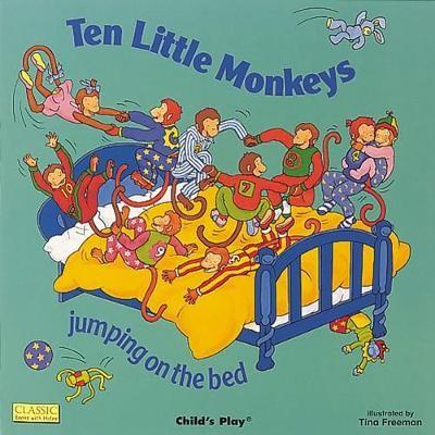 Ten Little Monkeys Jumping on the Bed - pr_265883