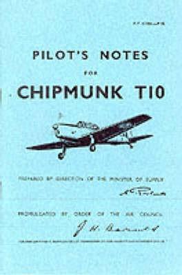 Pilot's Notes for Chipmunk T10 - pr_4660