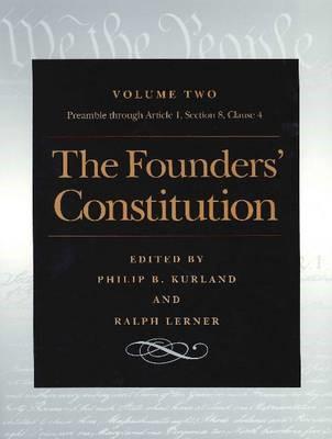 Founders' Constitution, Volume 2 -
