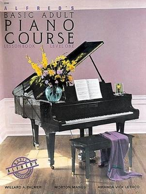 Alfred'S Basic Adult Piano Course Lesson 1 -