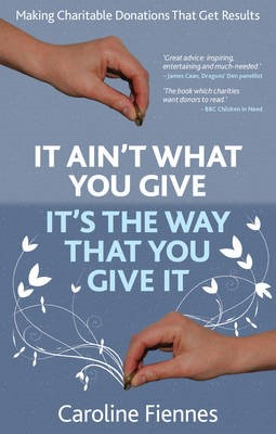 It Ain't What You Give, It's the Way That You Give It -