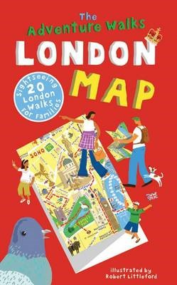 The Adventure Walks London Map - pr_16858