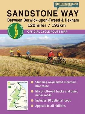 Sandstone Way Cycle Route Map - Northumberland - pr_218924