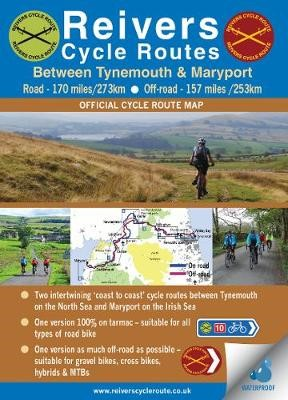 Reivers Cycle Routes - On and Off-road (waterproof) -