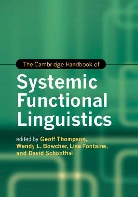 The Cambridge Handbook of Systemic Functional Linguistics -