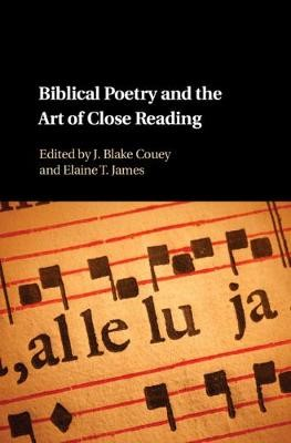 Biblical Poetry and the Art of Close Reading - pr_110173